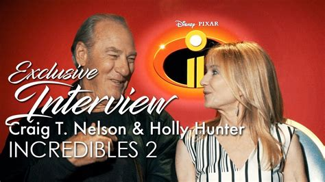 craig t nelson incredibles 2 craig t nelson holly hunter incredibles 2 youtube