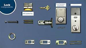 Schlage Sense U2122 Smart Deadbolt Installation Guide
