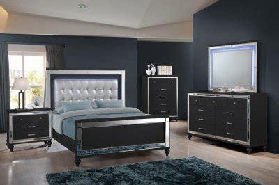 valentino bedroom set pc bb  black  ncfurniture