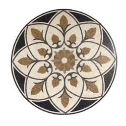 48 quot porcelain tile floor medallion artistic tile floor decoration 60326a