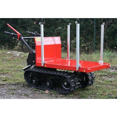 motocarriola per trasporto legna dispositivo arresto motori lombardini