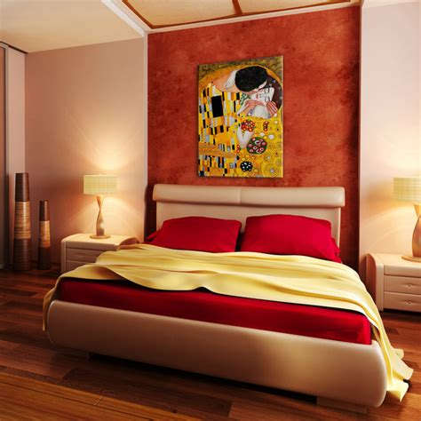 Oil Paintings For Bedrooms  Modern  Bedroom Wichita