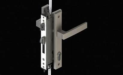 Lock Door Lever Point Steel Stainless Series