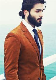Bun Man with Beard