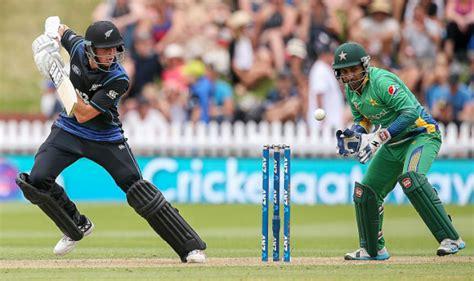Pakistan Vs New Zealand 2nd Odi Live Scorecard And Ball