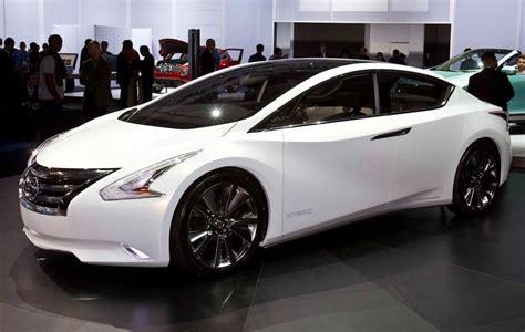 nissan altima hybrid concept redesign interior