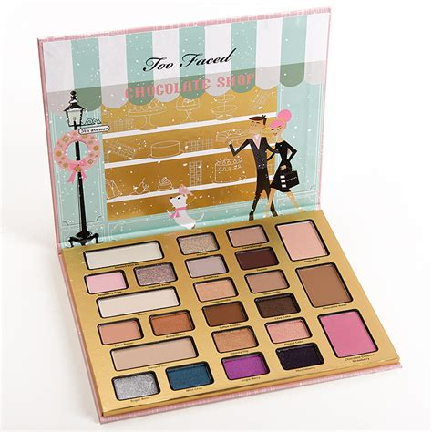 faced holiday  eyeshadow palette eye palette