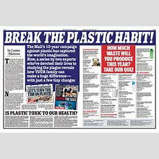 The Daily Mail Releases New Video Supporting Its Plastic