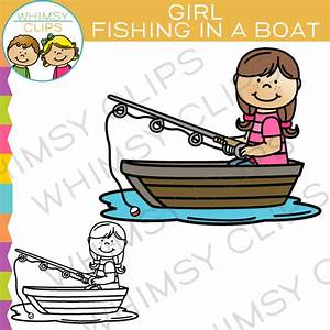 Boat clip art , Images & Illustrations | Whimsy Clips