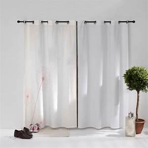 Oeillet De Rideau : rideau illet pissenlit qui s 39 envole decodeo ~ Premium-room.com Idées de Décoration