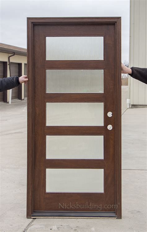 modern single entry doors cl