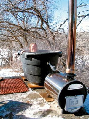country lore wood fired hot tub mother earth news