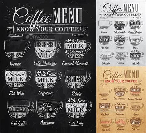 See 28 unbiased reviews of coffee zone, rated 4 of 5 on tripadvisor and ranked #9 of 205 restaurants in edinburg. Set of Coffee Menu | Coffee menu, Coffee bars in kitchen, Coffee board