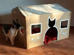diy cat house 17 best images about diy cardboard on