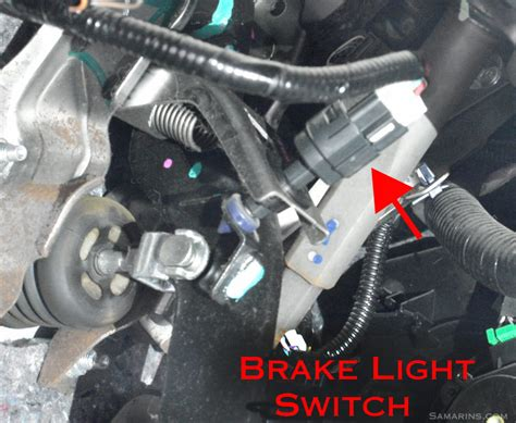 2006 volvo semi truck brake light switch symptoms problems testing replacement