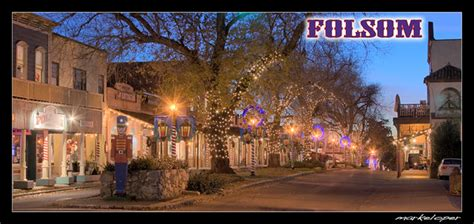 christmas  sutter street folsom ca hdr