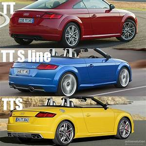 Nouvelle Audi Tt 2015 : 2015 audi tt tt s line and tts how to tell them apart ~ Melissatoandfro.com Idées de Décoration