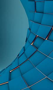 3D Squares Abstract Render Android Wallpaper free download