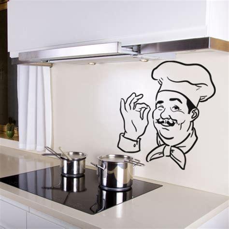 ustencils cuisine stickers chef cuisine pas cher