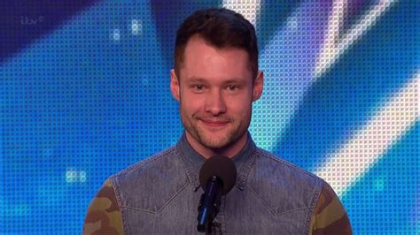Britain's Got Talent Calum Scott Warns Young Hopefuls To