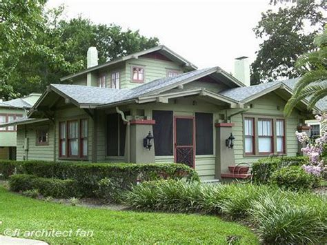 Craftsman Bungalow Style Homes Craftsman Style Homes