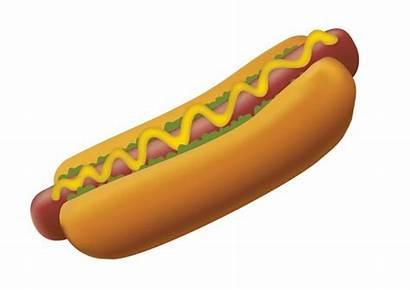 Dog Vector Clipart Hotdog Footlong Cookout Clip