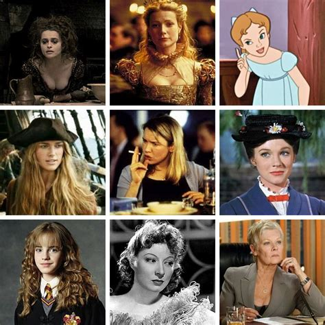 fictional british female characters movies quiz