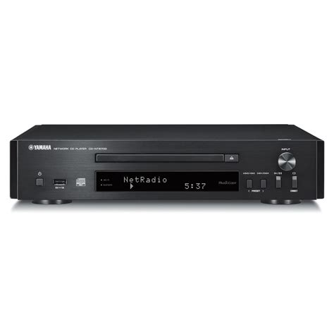 cd player yamaha yamaha cdnt670d network cd player with musiccast black at gear4music