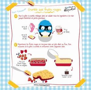 Recette De Gateau Pour Enfant : recette de crumble aux fruits rouges ~ Melissatoandfro.com Idées de Décoration