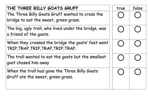 three billy goats gruff activities for preschool 3 billy goats gruff activities printable kiddo shelter 513