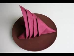 Youtube Servietten Falten : servietten falten segel napkin folding sail youtube ~ Frokenaadalensverden.com Haus und Dekorationen