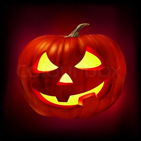 scary o lantern pictures scary jack o lantern eps 8 vector file included stock vector colourbox
