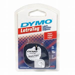 Dymo 55256811 letratag labels 1 letra tag for Dymo label stickers