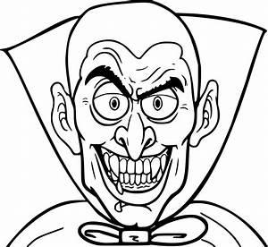 Dessin Halloween Vampire : coloriage vampire halloween imprimer sur coloriages info ~ Carolinahurricanesstore.com Idées de Décoration