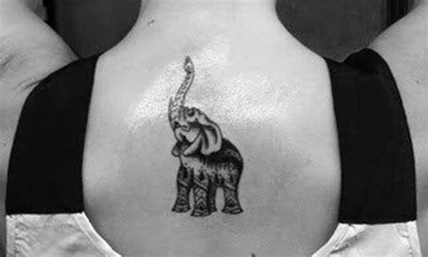 tatuajes de elefantes en la espalda ideas  disenos