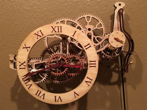 331 Best Images About Wooden Gear Clocks On Pinterest