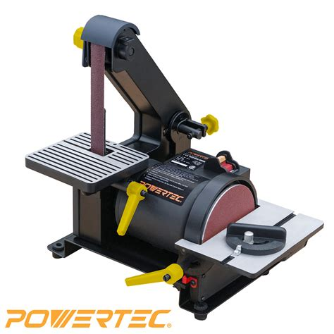 powertec bd woodworking belt disc sander