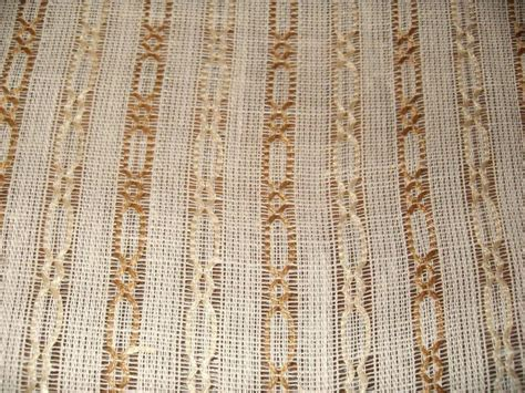 linen chainette open weave drapery fabric new ivory