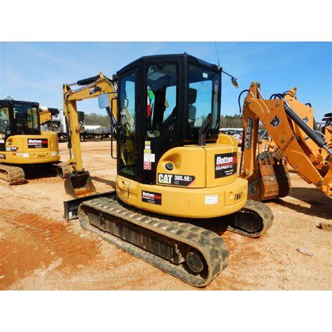 cat  cr excavator mini jm wood auction company