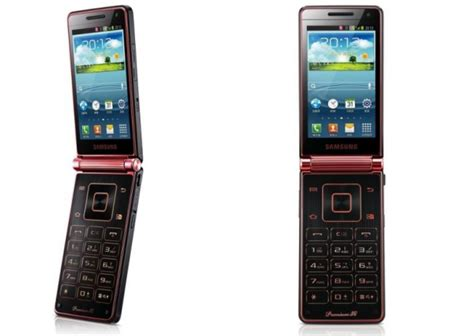 all about smartphones samsung new flip phone running