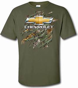 Chevrolet Ripped Camo T Shirt ChevyMall