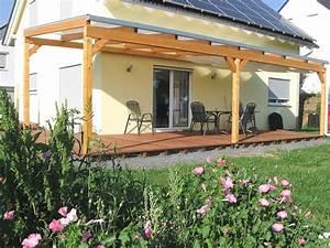 Gunstige terrassenuberdachungen mit holz unterbau in top for Günstige terrassenüberdachungen