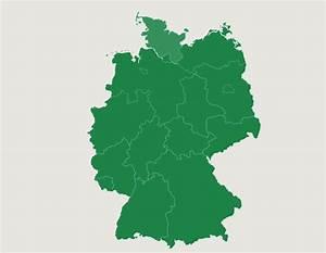 Alemania: Estados Federados Juego de Mapas