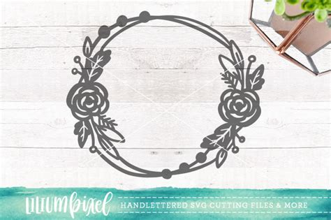 floral wreath svg png dxf  lilium pixel svg thehungryjpegcom