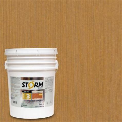 ready seal 1 gal light oak exterior wood stain and sealer