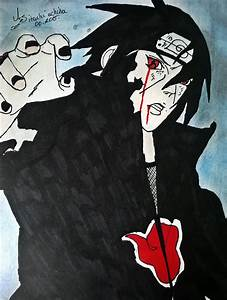 Naruto Shippuden - Itachi Uchiha (Drawings by AS) by ...