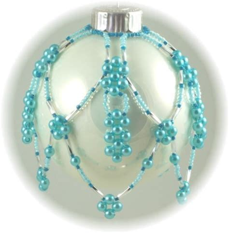 free beaded ornament cover patterns crafts pinterest