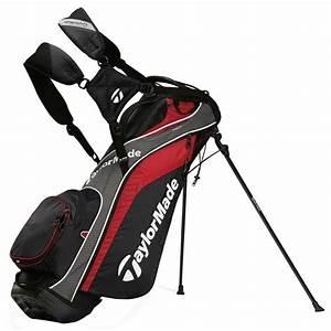 Sac De Golf TaylorMade TourLite Rouge Noir Gris Le