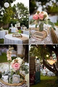Table Mariage Champetre : mariage champ tre chic pour c l brer aussi la joie de vivre ~ Melissatoandfro.com Idées de Décoration
