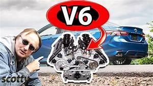 Why Not To Buy A V6 Car  Inline 4 Cylinder Vs V6 Engine